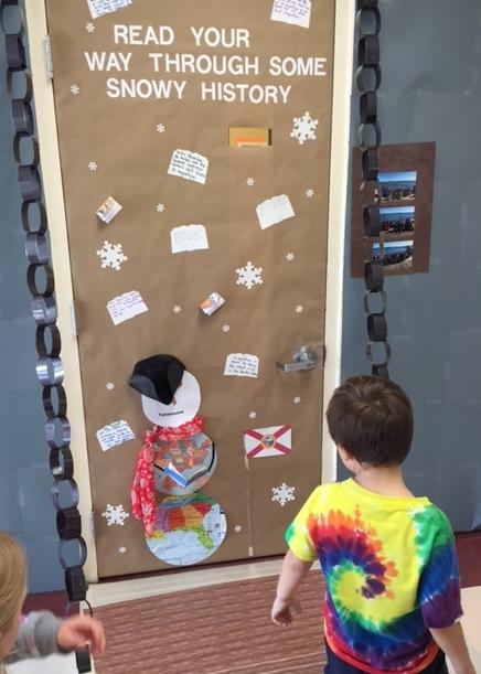 School Holiday Door Decorating Contest Teacher S Brain Blog