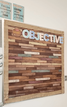 Objectives in the Classroom