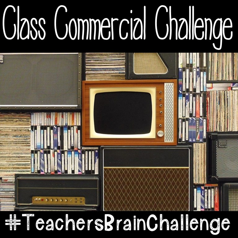 #TeachersBrainChallenge Make a Super Bowl Commercial