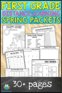 FIRST GRADE HOME LEARNING PACKET