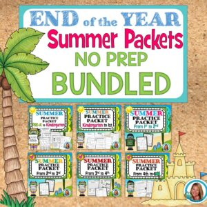summer packets for home learning