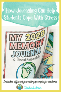 Journaling To Help With Stress