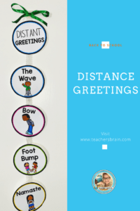 Social Distancing Greetings for Kids